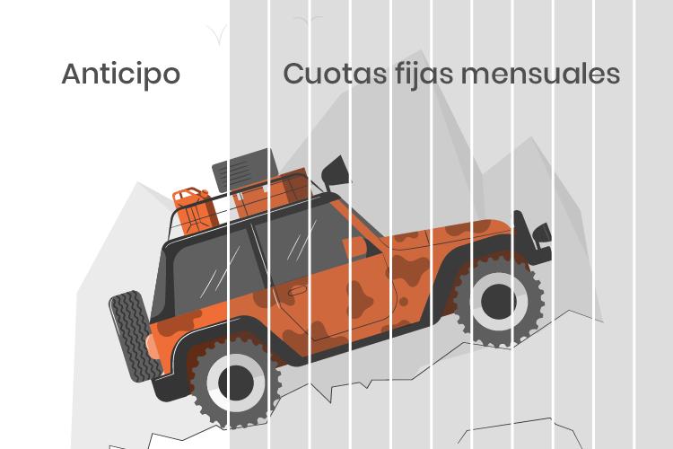 Camioneta con Credito Prendario