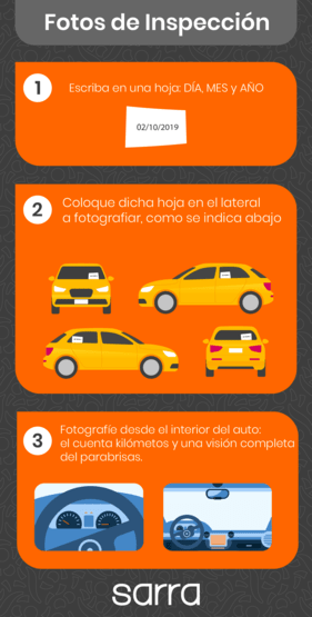 Instructivo inspección para contratar seguro para automóvil